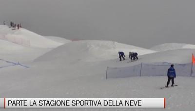 Sci, fondo e snowboard: parte la stagione sportiva