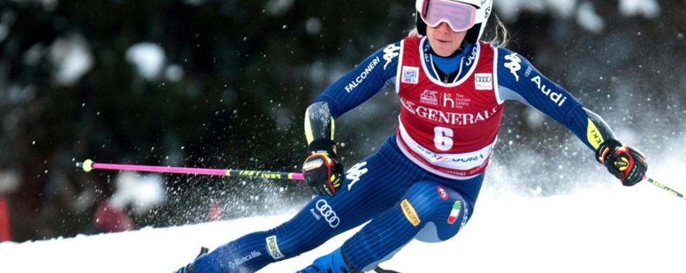 Super Bassino: podio a Kranjska Gora Brignone quinta, Goggia è quindicesima