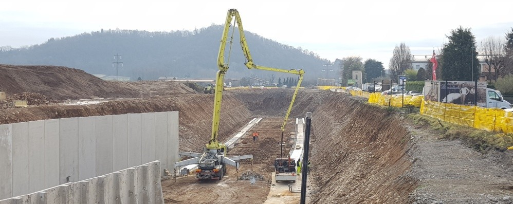 Treviolo-Paladina, si lavora ai 4 tunnel «L'apertura è prevista a settembre»