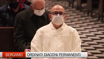 Bergamo - Ordinati due diaconi permanenti