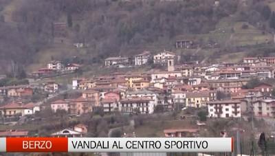Berzo San Fermo - Vandali al centro sportivo