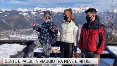 Gente e Paesi, tappa nella neve al Rifugio San Lucio di Clusone
