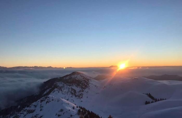 Monte Farno all'alba