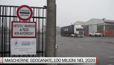 Mascherine, nel 2020 l'Agenzia Dogane e Monopoli ne ha sdoganate oltre 100 milioni