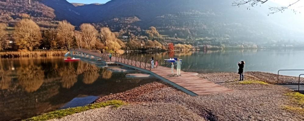 Maxi progetto da 11 milioni di euro E una passerella per il lago d'Endine