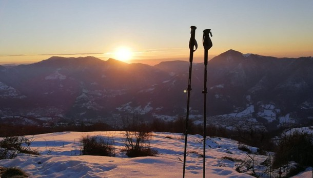 Ondata di freddo ma non di gelo Sulla Bergamasca in arrivo altra neve