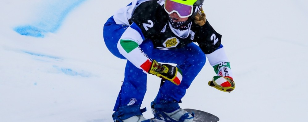 Snowboard, Moioli è quarta Per Sofia Belingheri ottavo posto