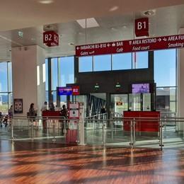 Aeroporti, il 2020 è stato un anno nero  Passeggeri crollati del 72,6%, a Orio -72,3%