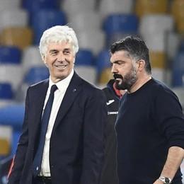 Gasperini: «Fatto una buona gara» Gattuso: «Ci hanno messo in difficoltà»