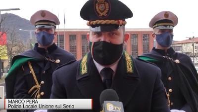 Nembro, la polizia locale Unione Insieme sul Serio festeggia il patrono