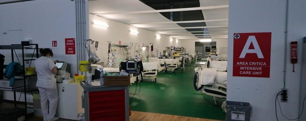 Ospedale in Fiera: via gli ultimi 3 pazienti Lorini: «I sacrifici hanno dato risultati»