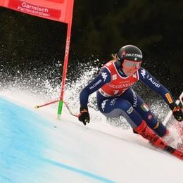 Sci, Gut vince il super G a Garmisch Goggia manca il podio per 7 centesimi