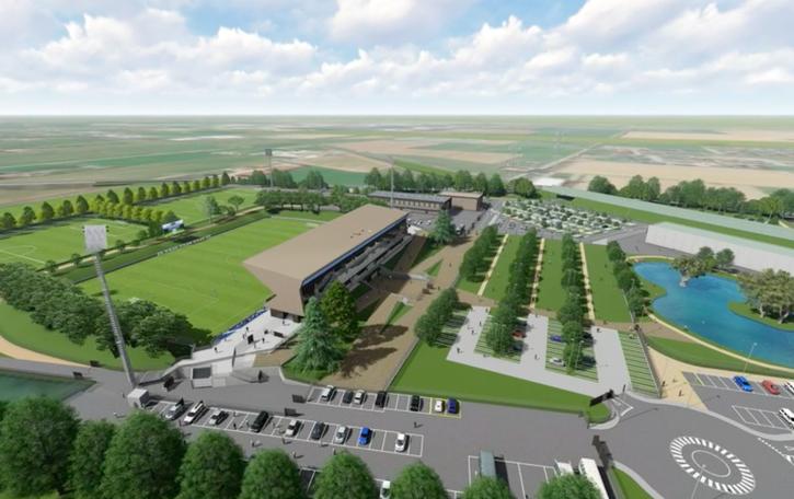 Un nuovo polo sportivo a Zanica Nasce l'AlbinoLeffe Campus - Il progetto