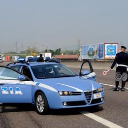 Inseguimento ad alta velocità in A4 Fermati e arrestati due spacciatori
