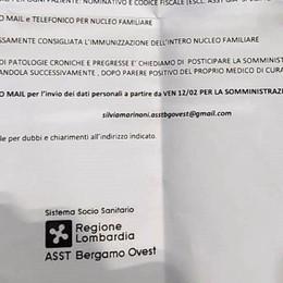 Lettera truffa sulle vaccinazioni anti-Covid È un falso, non comunicate dati sensibili