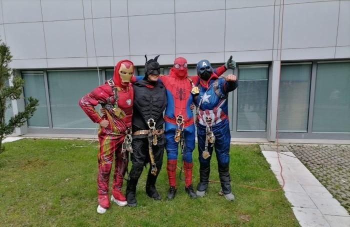 I supereroi di «In Quota» Trieste