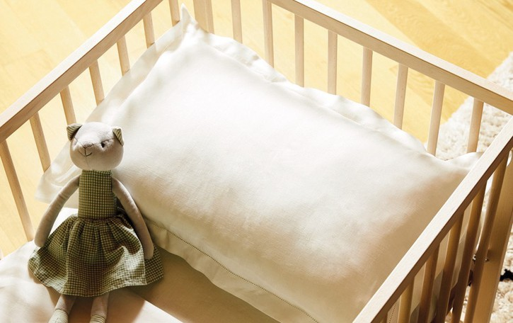 Dal Linificio un lenzuolo che fa bene a mamme e bimbi