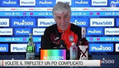 Gasperini: Soddisfatti per la Coppa, ora il campionato