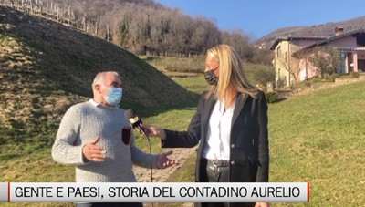 Gente e Paesi, la storia del contadino Aurelio di Alzano Sopra