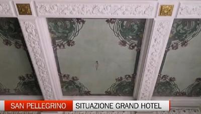 Grand Hotel di San Pellegrino. Siamo entrati nel cantiere quasi concluso