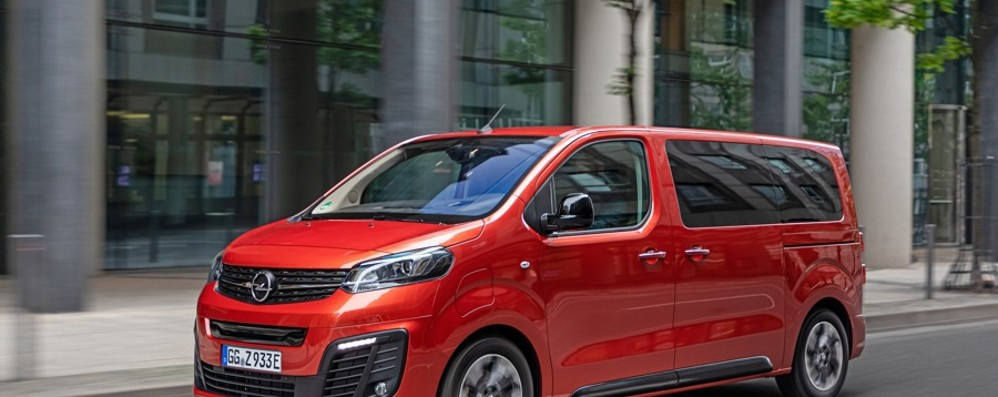 Opel Zafira Life Confort sino a 9 posti