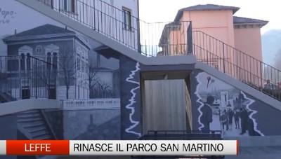 Leffe, dopo anni torna il parco San Martino