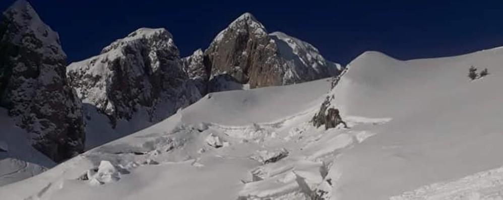 Rischio valanghe, il sindaco di Castione vieta le escursioni in Presolana