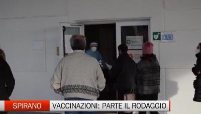 Spirano: attivato l'hub per le vaccinazioni. Oggi il rodaggio delle 11 postazioni con il personale sanitario non ancora vaccinato