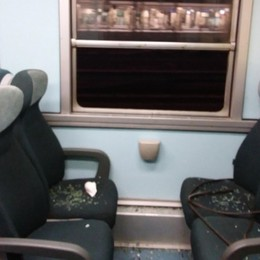 Treni, vandali sulle linee bergamasche Finestrini distrutti: soppresse tre corse