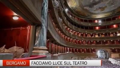 Bergamo - «Facciamo luce sul teatro»
