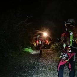 Bloccata su un versante impervio al buio Ragazza 26enne portata in salvo