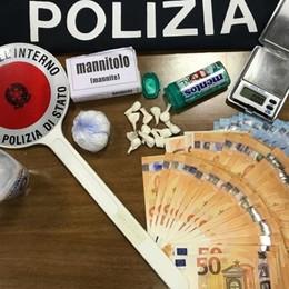 Cede cocaina, fermato dalla Polizia Bagnatica, in casa droga e  3 mila euro