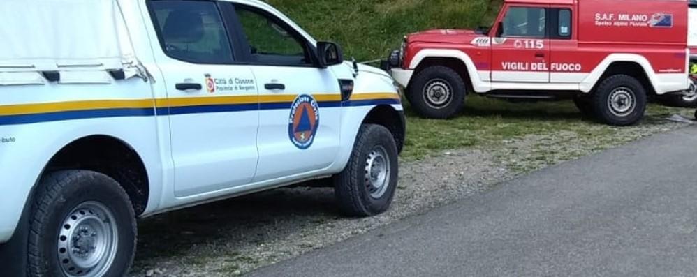 Coppia di escursionisti si smarrisce Intervengono i soccorsi a Costa Volpino