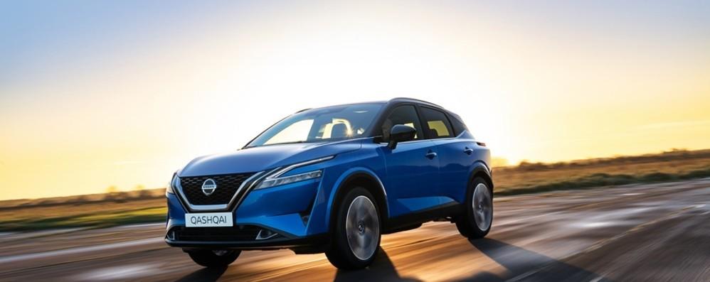 Crossover Nissan Qashqai  alla terza generazione