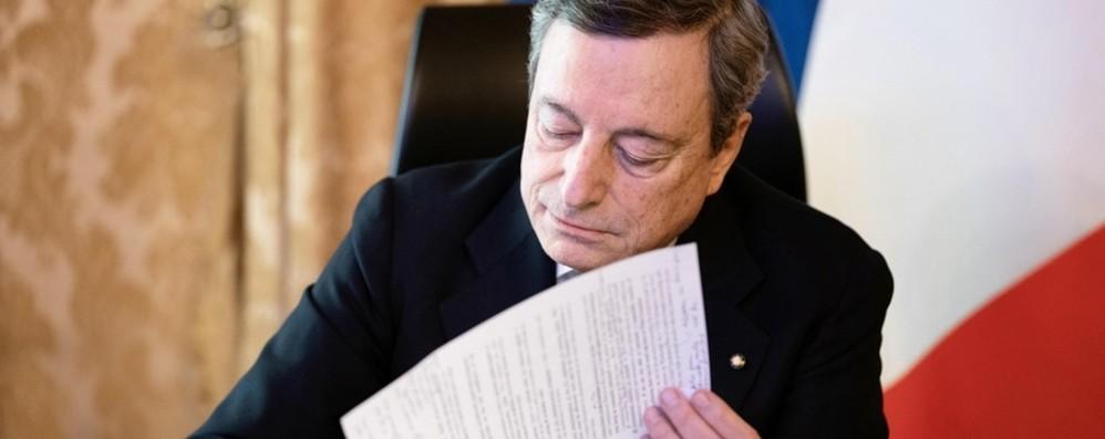 Draghi firma il nuovo Dpcm, cosa cambia Nuove norme dal 6 marzo al 6 aprile