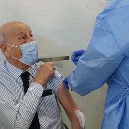 Fiera, primo giorno di vaccinazioni   Ecco il programma delle somministrazioni