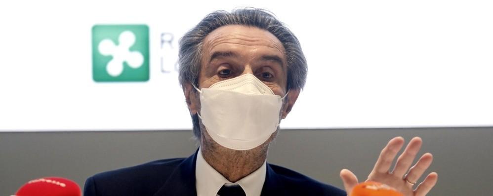 Fontana: «Dove il virus è in crescita serve consegna immediata dei vaccini»