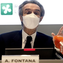 Fontana: «Dove il virus è in crescita serve consegna immediata dei vaccini»