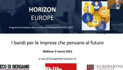 I bandi Ue  per le imprese che pensano al futuro