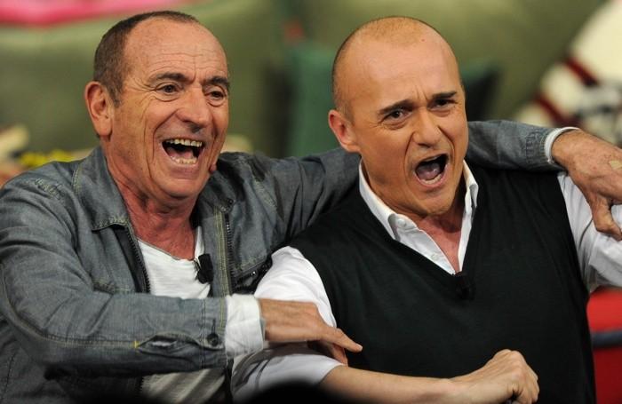 Con Alfonso Signorini