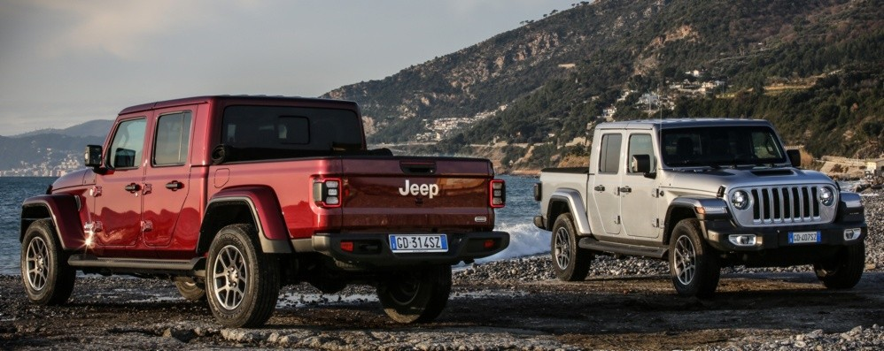 Jeep Gladiator, pick-up dall'uso flessibile