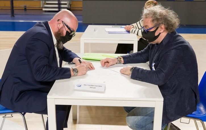 La Blu Basket diventa Fondazione Alla super presidenza Stefano Lamera