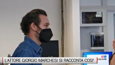 L'attore bergamasco Giorgio Marchesi incontra gli studenti dell' Artistico: Un modo per far sentire che ci siamo
