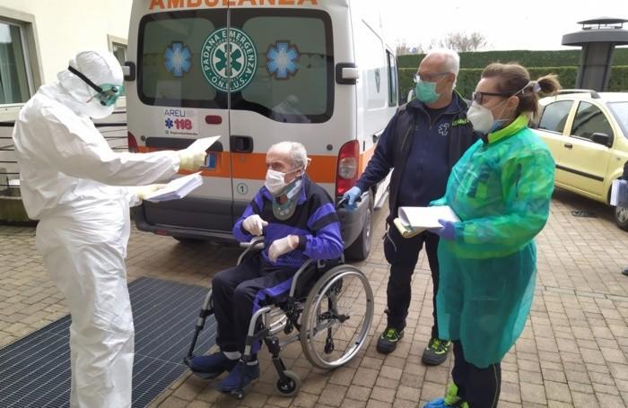 Il primo paziente al Winter Garden di Stezzano con «Abitare la cura»