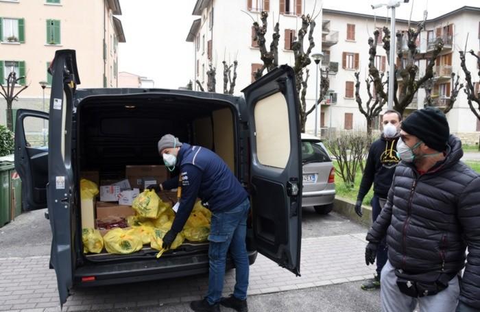 I volontari di «BergamoXBergamo» del Comune di Bergamo