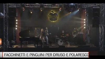Luce sui locali di musica dal vivo Facchinetti al Druso e Pinguini al Polaresco