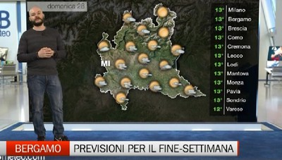 Meteo - Previsioni per il week-end