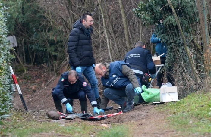 Erbusco, il luogo dove è stato trovato il corpo di Stefania Crotti