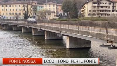 Ponte Nossa, i fondi per la messa in sicurezza del ponte De Angeli