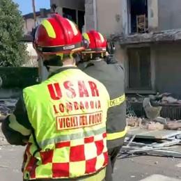 Torre de' Roveri, fuga di gas ed esplosione In casa il proprietario e il cane: salvi - Foto/video